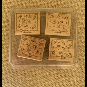 Stampin' Up Fabulous Four Stamp Set